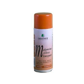 Chestnut melamine gloss lacquer - 400ml CFC free aerosol